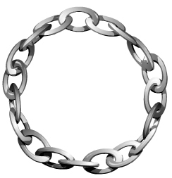 chain link circle clip art